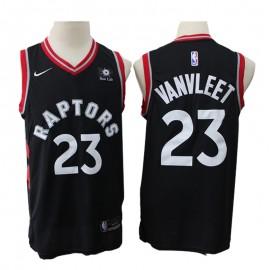 Camiseta Fred VanVleet #23 Toronto Raptors Negro
