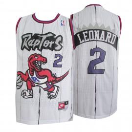 Camiseta Kawhi Leonard #2 Toronto Raptors Blanco Classic Edition