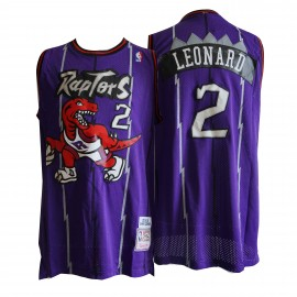Camiseta Kawhi Leonard #2 Toronto Raptors Púrpura Classic Edition