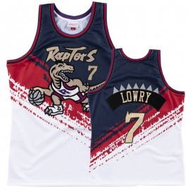 Camiseta Kyle Lowry #7 Toronto Raptors Blanco Independence Day Edition