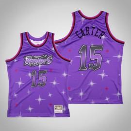 Camiseta Vince Carter #15 Toronto Raptors Púrpura Star Edition