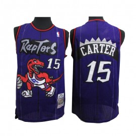 Camiseta Vince Carter #15 Toronto Raptors Púrpura Classic Edition