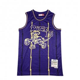 Camiseta Vince Carter #15 Toronto Raptors Púrpura Mouse Limited Edition