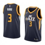 Camiseta Ricky Rubio #3 Utah Jazz 17/18 Azul Marino Icon Edition