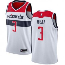 Camiseta Bradley Beal #3 Washington Wizards 17/18 Blanco Association Edition