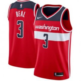 Camiseta Bradley Beal #3 Washington Wizards 17/18 Rojo Icon Edition