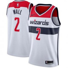 Camiseta John Wall #2 Washington Wizards 17/18 Blanco Association Edition