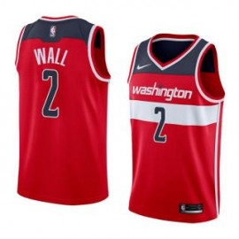 Camiseta John Wall #2 Washington Wizards 17/18 Rojo Icon Edition