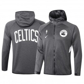 Chandal Boston Celtics Con Capucha Gris