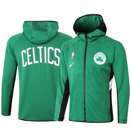 Chandal Boston Celtics Con Capucha Verde