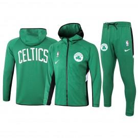 Chandal Boston Celtics Con Capucha Verde