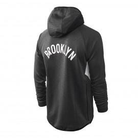 Chandal Brooklyn Nets Con Capucha Gris