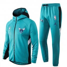 Chandal Charlotte Hornets Con Capucha Azul