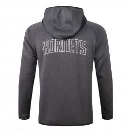 Chandal Charlotte Hornets Con Capucha Gris