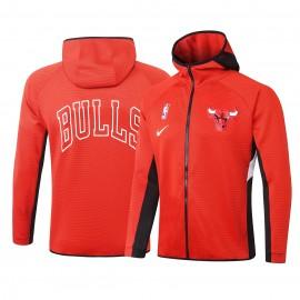 Chandal Chicago Bulls Con Capucha Rojo