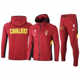 Chandal Cleveland Cavaliers Con Capucha Rojo