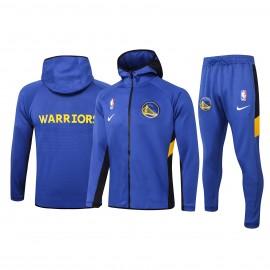 Chandal Golden State Warriors Con Capucha Azul