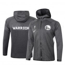 Chandal Golden State Warriors Con Capucha Gris