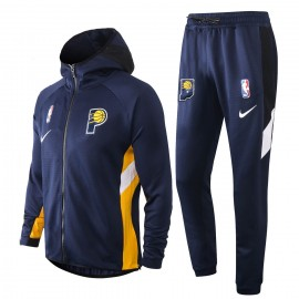 Chandal Indiana Pacers Con Capucha Azul Marino