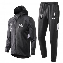 Chandal Indiana Pacers Con Capucha Gris