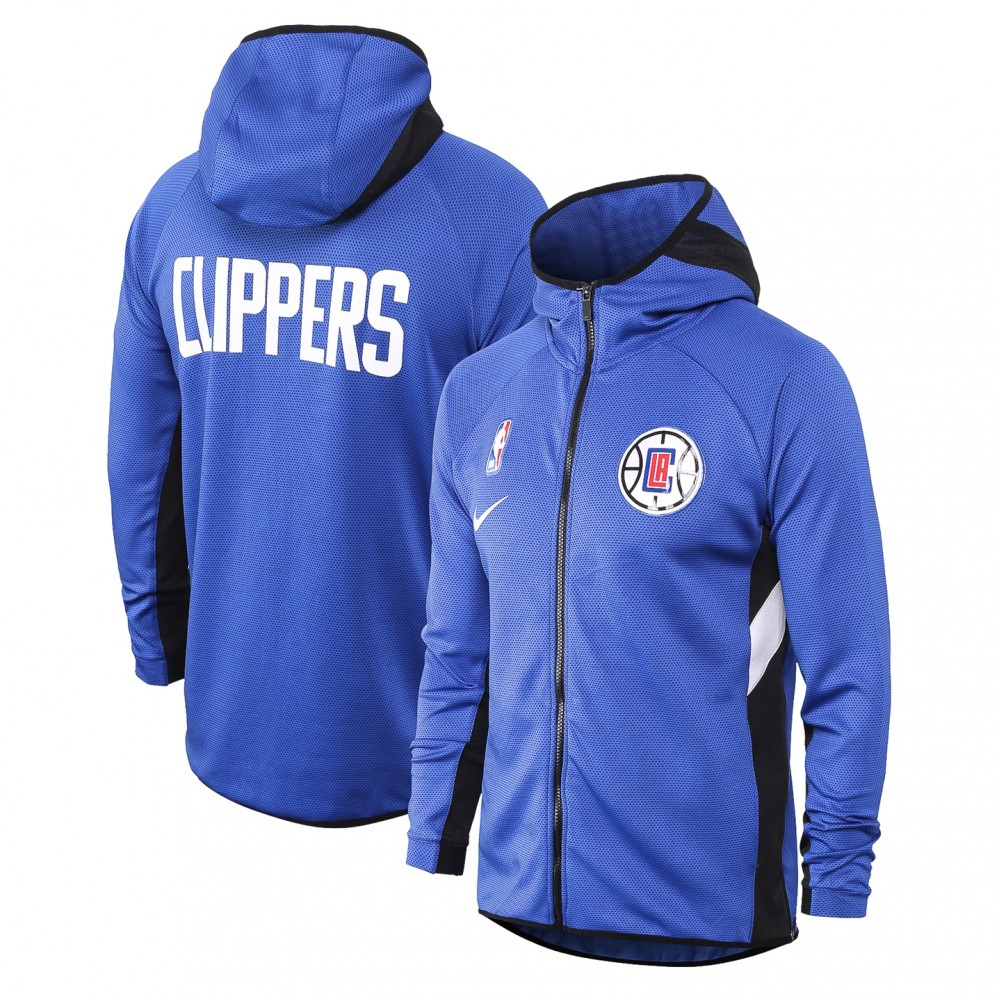 Chandal Los Angeles Clippers Con Capucha Azul