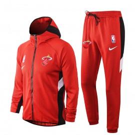 Chandal Miami Heat Con Capucha Rojo