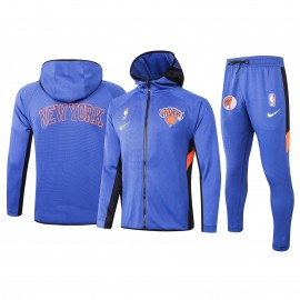 Chandal New York Knicks Con Capucha Azul