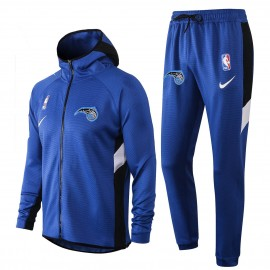 Chandal Orlando Magic Con Capucha Azul