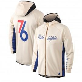 Chandal Philadelphia 76ers Con Capucha Beige