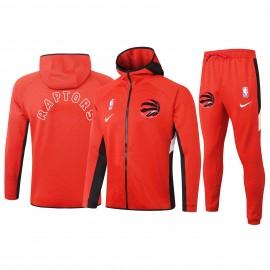 Chandal Toronto Raptors Con Capucha Rojo