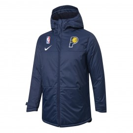 Chaqueta Acolchada Indiana Pacers Azul Real