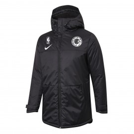 Chaqueta Acolchada Los Angeles Clippers Negro