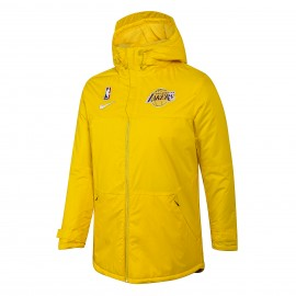 Chaqueta Acolchada Los Angeles Lakers Amarillo