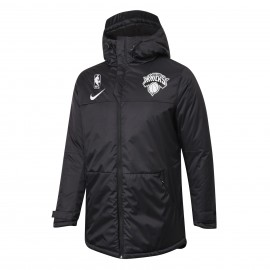 Chaqueta Acolchada New York Knicks Negro