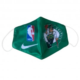 Mascarilla de Tela Boston Celtics Verde Adulto