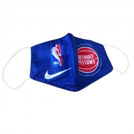 Mascarilla de Tela Detroit Pistons Azul Adulto