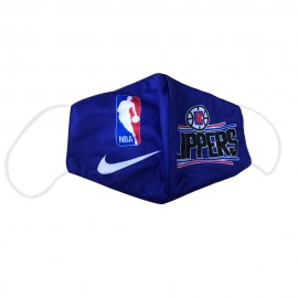 Mascarilla de Tela Los Angeles Clippers Azul Adulto