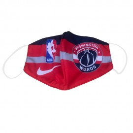 Mascarilla de Tela Washington Wizards Rojo Adulto