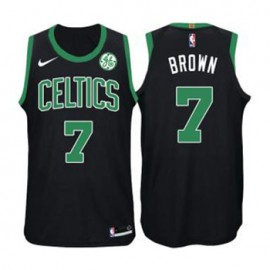 Camiseta Jaylen Brown #7 Boston Celtics 17/18 Negro Niño