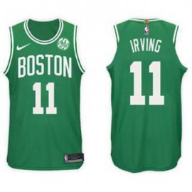 Camiseta Kyrie Irving #11 Boston Celtics 17/18 Verde Niño