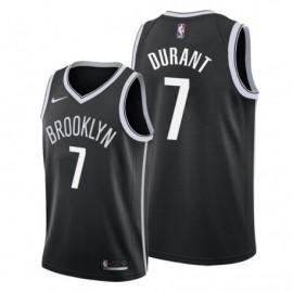Camiseta Kevin Durant #7 Brooklyn Nets 19/20 Negro Icon Edition Niño