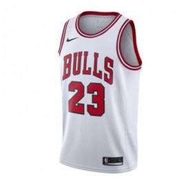 Camiseta Michael Jordan #23 Chicago Bulls 17/18 Blanco Niño