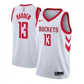 Camiseta James Harden #13 Houston Rockets 17/18 Blanco Association Edition Niño