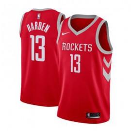 Camiseta James Harden #13 Houston Rockets 17/18 Rojo Icon Edition Niño