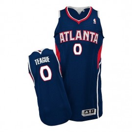 Camiseta Jeff Teague #0 Atlanta Hawks Azul