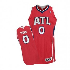 Camiseta Jeff Teague #0 Atlanta Hawks Rojo