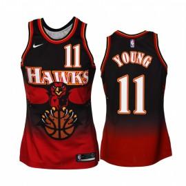 Camiseta Trae Young #11 Atlanta Hawks 2019/20 Rojo Classic Edition