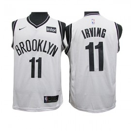 Camiseta Kyrie Irving #11 Brooklyn Nets 2019/20 Blanco Fan Edition