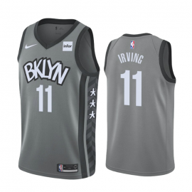 Camiseta Kyrie Irving #11 Brooklyn Nets 2019/20 Gris Statement Edition