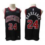 Camiseta Lauri Markkanen #24 Chicago Bulls 2020 Negro